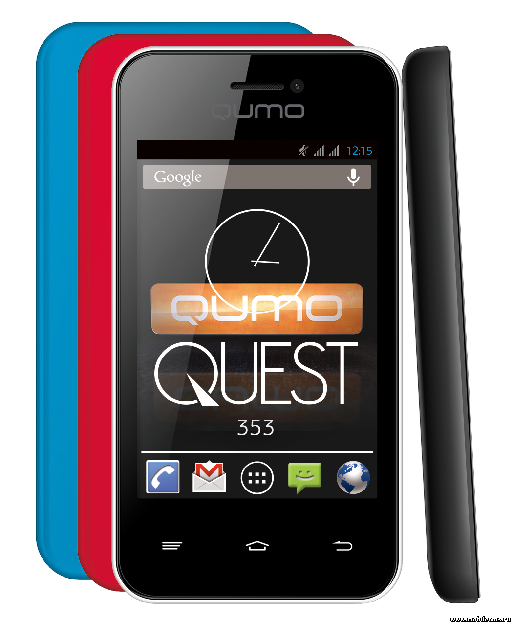 Полный сброс (hard reset) Qumo QUEST 353 и другие